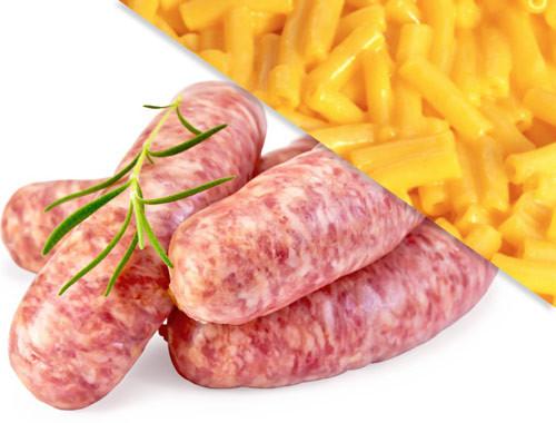 All Natural Mac n' Cheese Brats