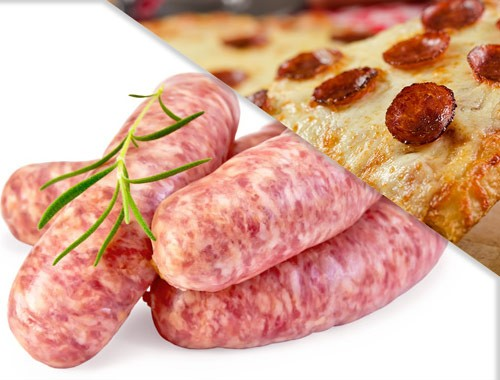All Natural Pizza Brats