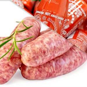 All Natural Sriracha Brats