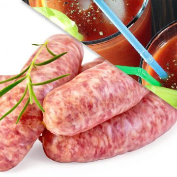 All Natural Bloody Mary Brats